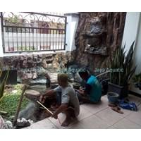 Jasa pembuatan kolam ikan    (Akuarium & Aksesoris ) Murah 5