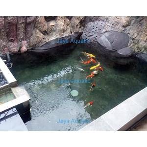 Jasa pembuatan kolam ikan    (Akuarium & Aksesoris )