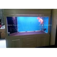 Pembuatan Aquarium Arowana