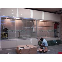 Pembuatan Aquarium Display Murah 5