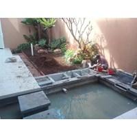 Jual jasa pembuatan kolam dan aquarium 2