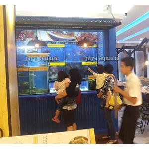 Aquarium Display Restoran 2     (Akuarium & Aksesoris)