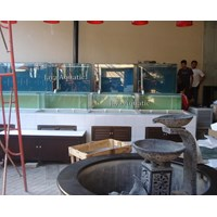 Akuarium Display Restoran 2.   ( Akuarium & Aksesoris ) Murah 5