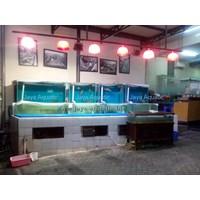 Akuarium Display Restoran 2.   ( Akuarium & Aksesoris ) 1