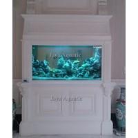 Jual jasa pembuatan kolam dan aquarium