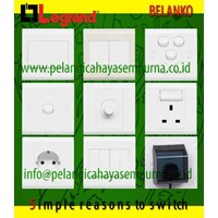 Jual Grid Switch Stop kontak Belanko Saklar Belanko Grid Switch 3 gang Grid Switch 4 gang Grid Switch 5 gang Grid Switch 6 gang