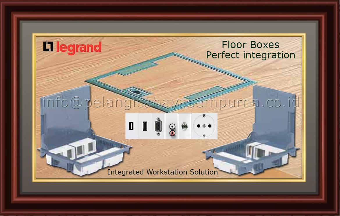 Sell Legrand Floor Boxes For Raised Or Concrete Floor