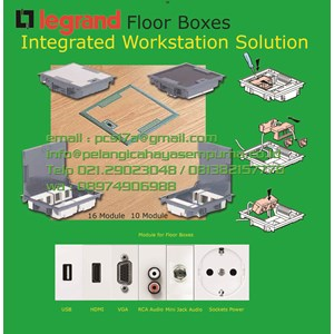 Floor boxes Type Karpet Stainless Steel Floor Outlet power