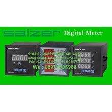 Digital Panel Meter Salzer Amperemeter Digital Voltmeter Frequency Digital Multimeter