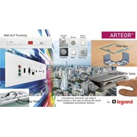 Legrand Arteor Integrated Multi Outlet power data