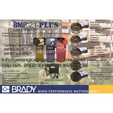Brady Printer Label Bmp21 plus Mesin Printer BMP21+