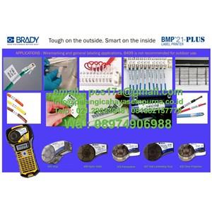Brady Bmp21 plus Portable Printer Label