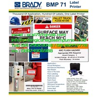 Brady BMP71 Printer Label