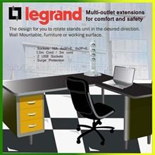 Stop kontak 4 dan 6 lubang Multioutlet sockets extensions desk table furniture sockets