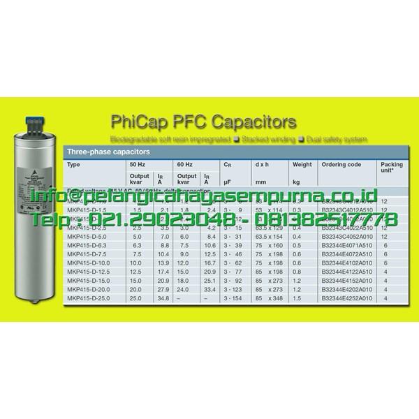 EPCOS Capacitor MKP415 Kapasitor MKP415
