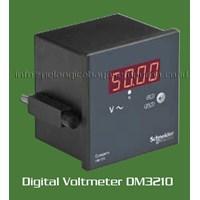 Digital Voltmeter MetseDM1210 MetseDM3210 Schneider Electric Digital Meter Voltase Meter  1