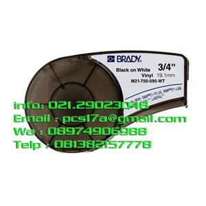 Brady Label  M21-750-595-WT