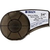Label Cartridge BMP21 m21-750-499 Nylon Cloth Label Printer Brady