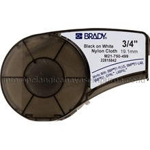Label Cartridge BMP21 m21-750-499 Nylon Cloth Label Printer Brady