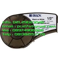 Brady Label M21-500-595 Black on White Black on Yellow and Black on Orange