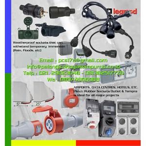 Rubber sockets outlet  Stop kontak tahan air plexo ip55 switch sockets