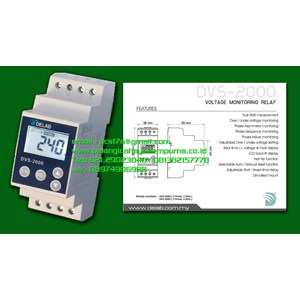 Delab DVS-2000 Voltage Monitoring Relay