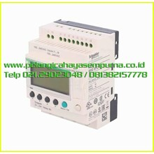 compact smart relay Zelio Logic SR2B121FU