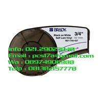 Brady M21-750-427 Self-Laminating Vinyl Wire and Cable Labels