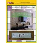 Multimedia Wall Panels Data Sockets HDMI VGA HD15 Audio Video Minijack USB TV Female 1
