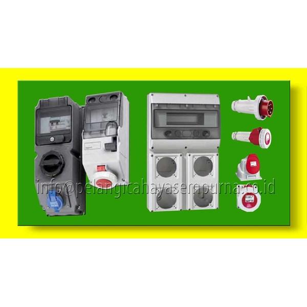 Interlock Socket Switch combination unit socket IP44 IP67