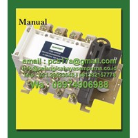 Salzer Changeover Switch Manual SPL Transfer Switches and isolation switch