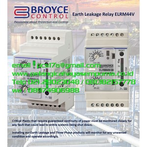 Earth Leakage Relay ELRM44V