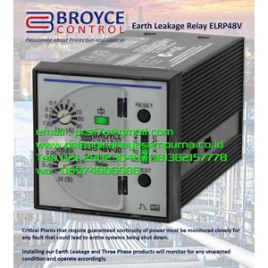 Broyce ELRP48V 30 Control Earth Leakage Relay