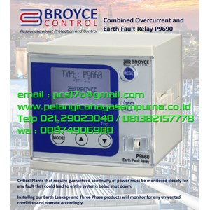 Broyce Combined Overcurrent and Earth Fault detection IDMT