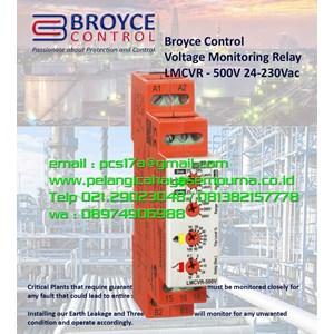 Voltage Monitoring Relay LMCVR-500V 24-230VAC/DC
