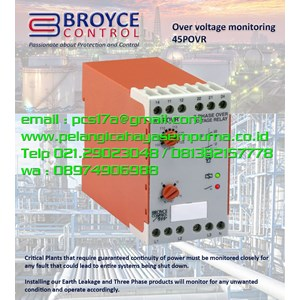 Broyce Over voltage Monitoring Relay 45POVR
