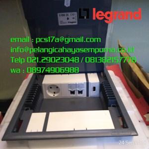 Legrand Floor Box 89621 Cover Carpet 10 Module