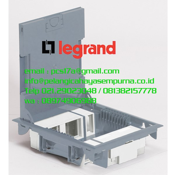 Legrand Floor Box 89621 Cover Carpet 10 Module