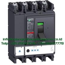 Compact MCCB NSX630F 36kA 630A 4 Pole MCCB / Mold Case Circuit Breaker