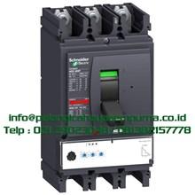Compact MCCB NSX630F 36kA 630A 3 Pole MCCB / Mold Case Circuit Breaker