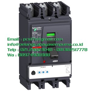 NSX630F 36kA 630A 3 Pole MCCB / Mold Case Circuit Breaker