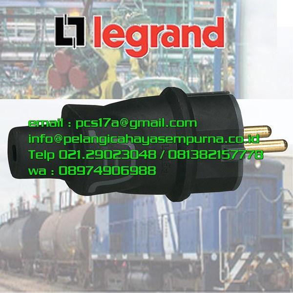 Steker karet IP44 male plug