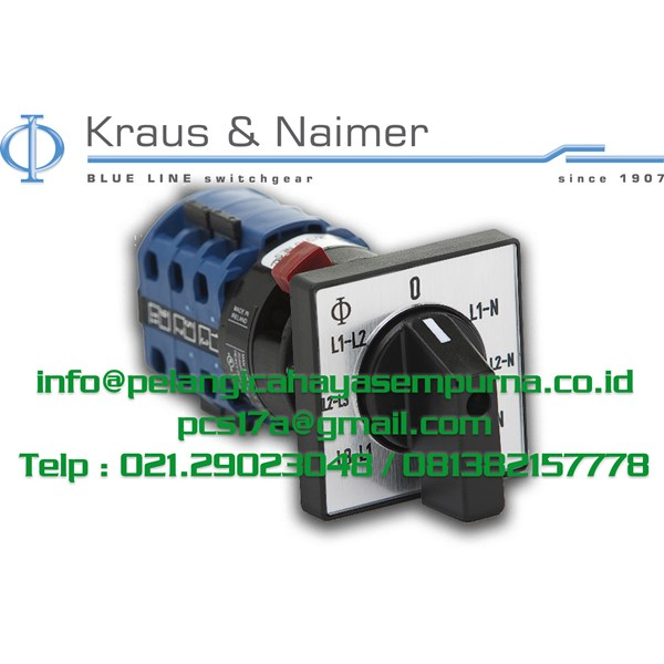 Voltmeter Switch 7 Posisi CA10-007-600