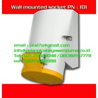 Mennekes 16A Wall Mounted Receptacle 101 IP44