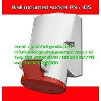 CEE Wall mounted socket IP44 400V