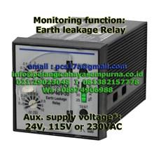 Earth Leakage Relay ELRP48-30 12VDC 115VDC
