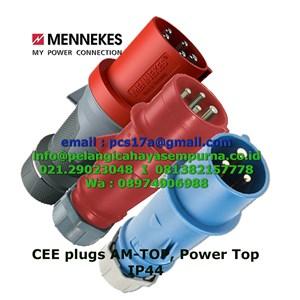 Mennekes CEE plugs AM-TOP IP44 16A 32A 63A