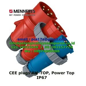 Mennekes Plug AM-TOP Power Top 16Amp 32Amp 63Amp 125Amp
