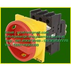 P1-25/EA/SVB/N/HI11 3 pole + N + 1 N/O + 1 N/C 25A Emergency-Stop function Lockable in the 0 (Off) position flush mounting 1