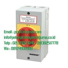 SAA-40-3 Isolator Switch On-Off 16 Amp 3 Pole